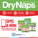 WIN with DryNaps and Beautyzone!